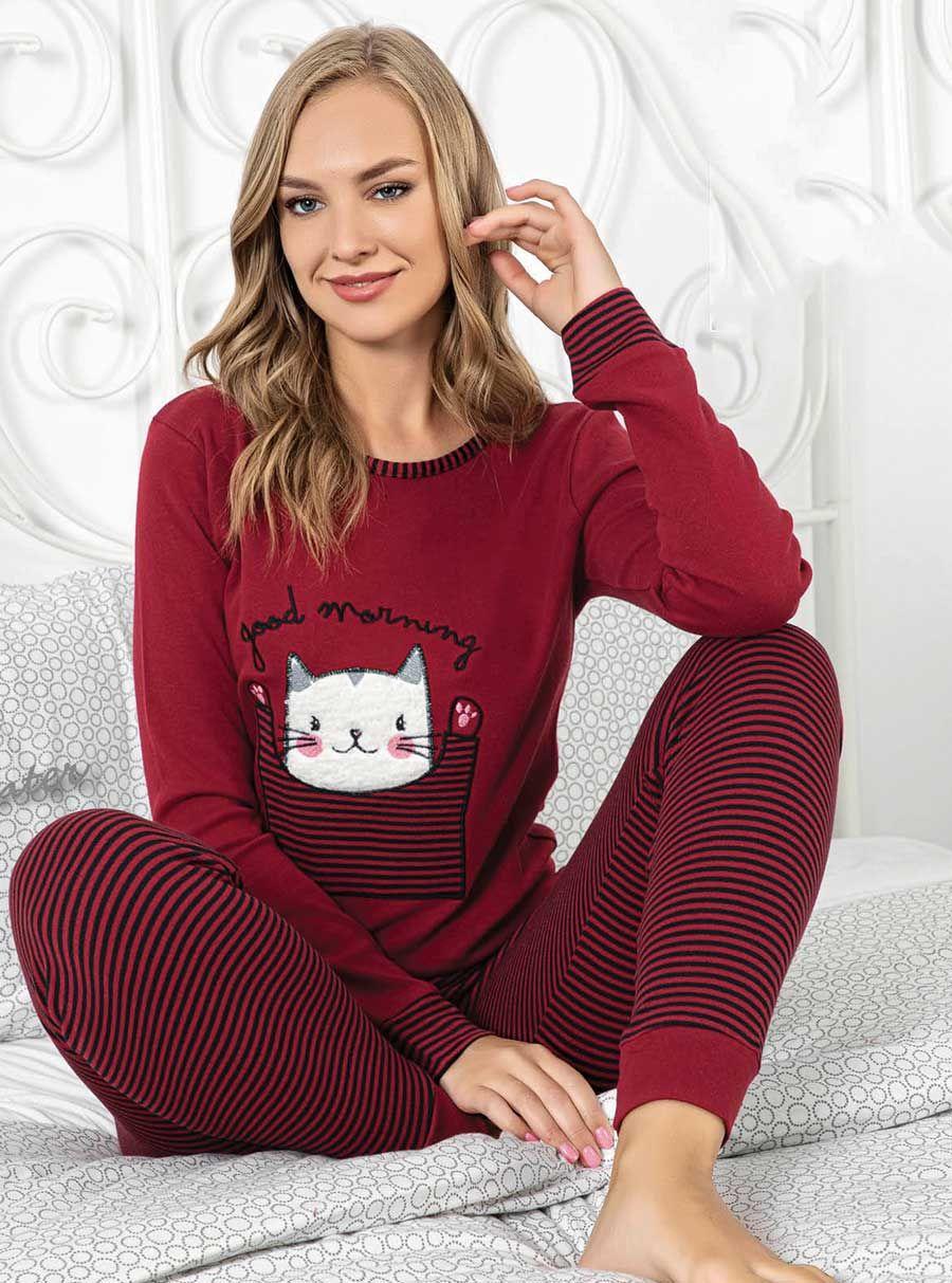 5054P İnterlok Kışlık Pijama Tk