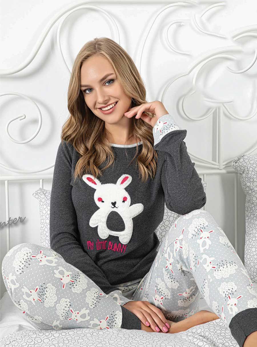 5053P İnterlok Kışlık Pijama Tk