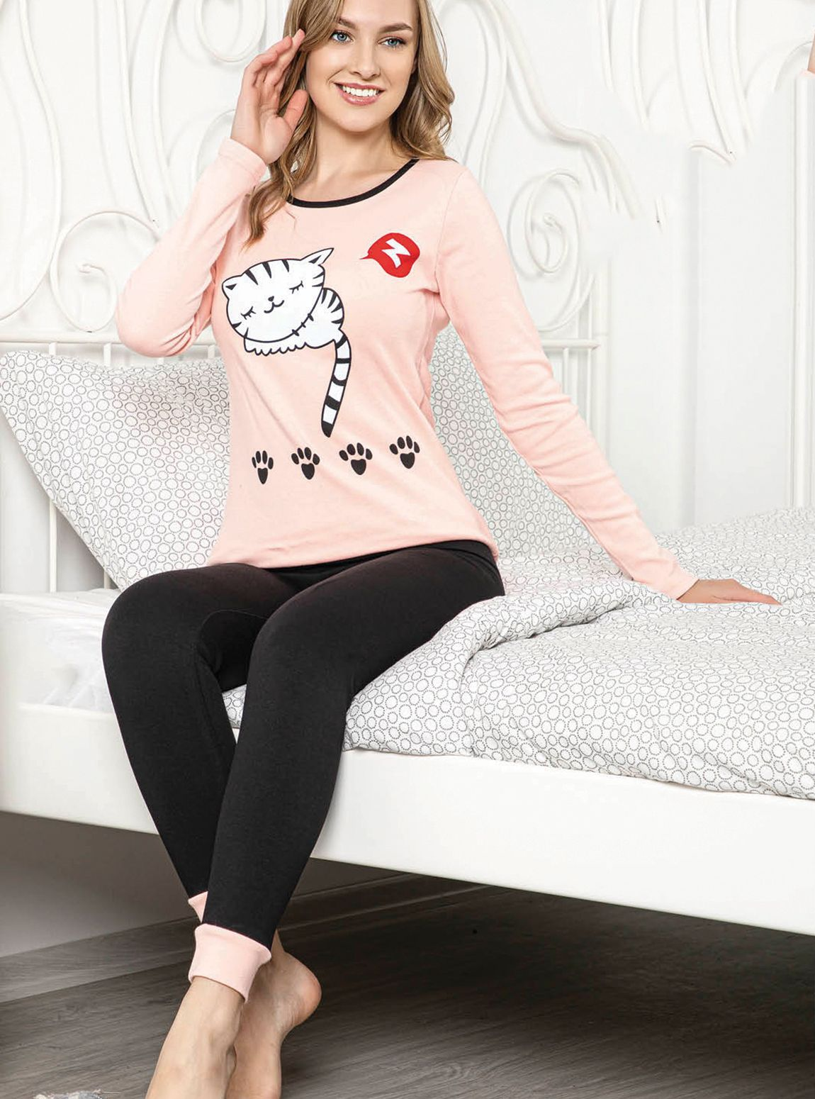 5012P İnterlok Kışlık Pijama Tk